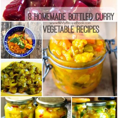 8 Homemade Bottled Curry Vegetable Recipes