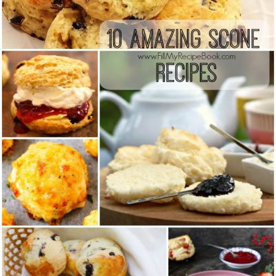 10 Amazing Scone Recipes