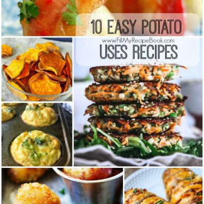 10 Easy Potato Uses Recipes