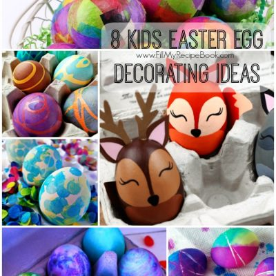 8 Kids Easter Egg Decorating Ideas