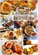 10 Healthy Hot Cross Bun Recipes (SF,GF,)