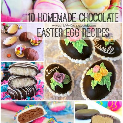 10 Homemade Chocolate Easter Egg Recipes