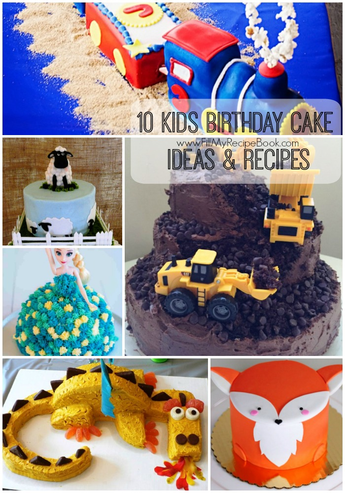 Miraculous 10 Kids Birthday Cake Ideas Recipes Fill My Recipe Book Funny Birthday Cards Online Alyptdamsfinfo