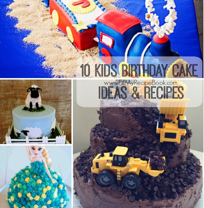 Therefore Here Are Some Ideas And Recipes To Find As Well An Idea Design Your Own Special Birthday Cake