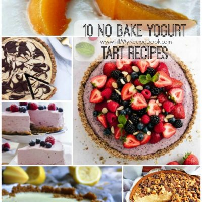 10 No Bake Yogurt Tart Recipes
