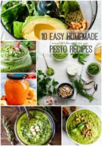 10 Easy Homemade Pesto Recipes