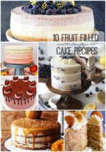 10 Fruit Filled Cake Recipes