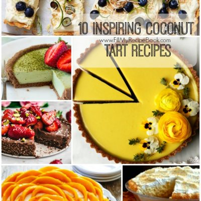 10 Inspiring Coconut Tart Recipes