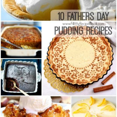 10 Fathers Day Pudding Recipes