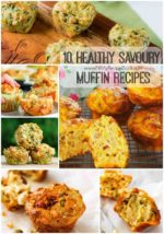 10 Healthy Savoury Muffin Recipes