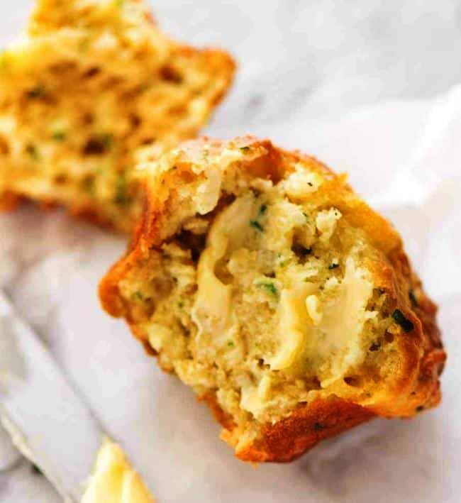 Cheese-garlic-muffins
