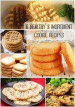 8 Healthy 3 Ingredient Cookie Recipes