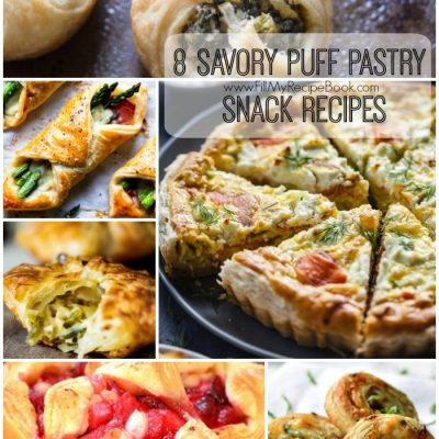 8 Savory Puff Pastry Snack Recipes