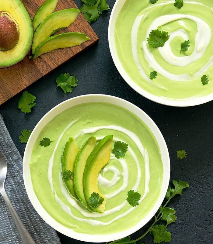 Cream-of-avocado-soup