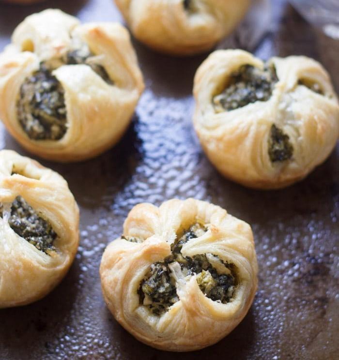 Vegan-spinach-puffs