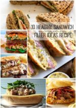 10 Healthy Sandwich Filler Ideas Recipe