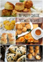 10 Tasty Cheese Scones Recipes
