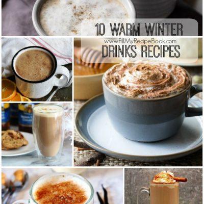 10 Warm Winter Drinks Recipes