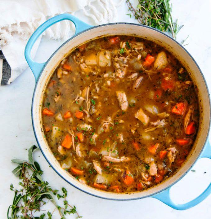 Chicken-barley-stew