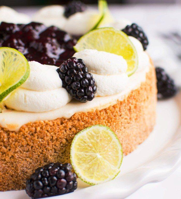 Key-lime-blackberry-cheesecake