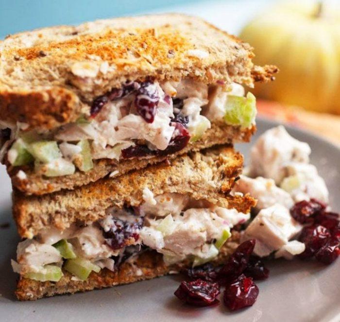 Leftover-turkey-salad-sandwiches
