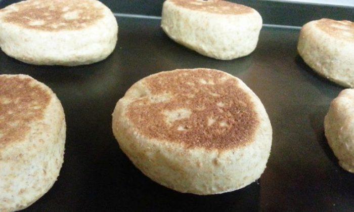 Bread-machine-whole-wheat-english-muffins