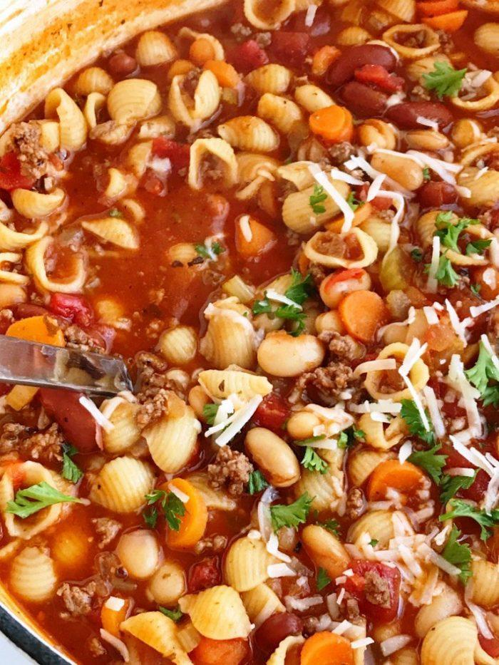 Pasta-fagioli-soup
