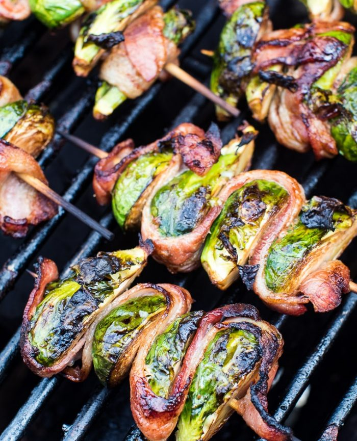 Bacon-wrapped-grilled-brussels-sprouts