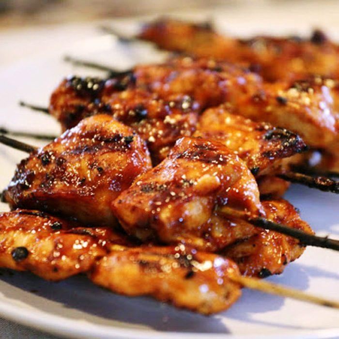 Easy-sticky-chicken-skewers