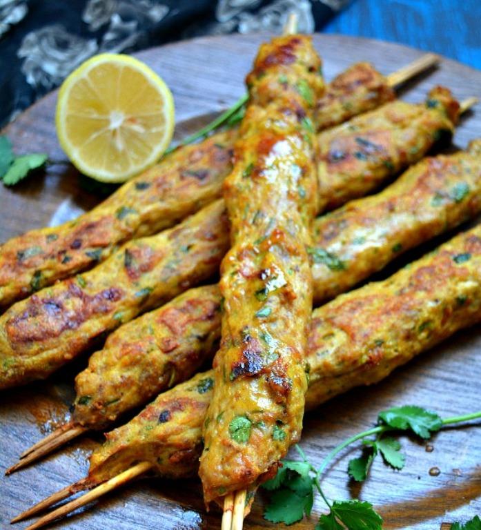 Chicken-seekh-kabab-minced-chicken