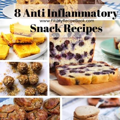 8 Anti Inflammatory Snack Recipes