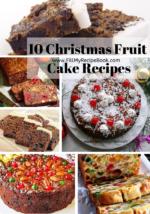 10 Christmas Fruit Cake Recipes