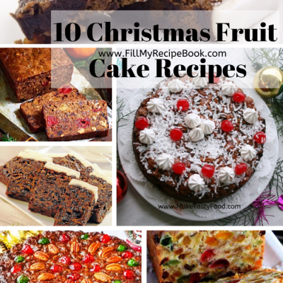 10 Christmas Fruit Cake Recipes