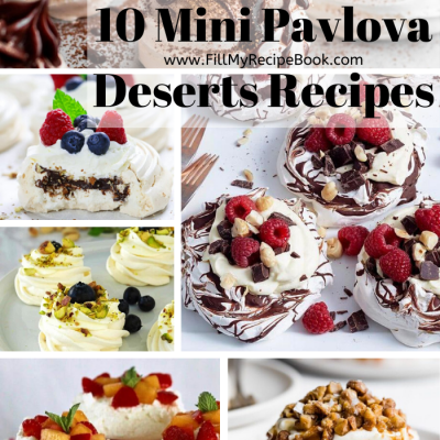 10 Mini Pavlova Deserts Recipes