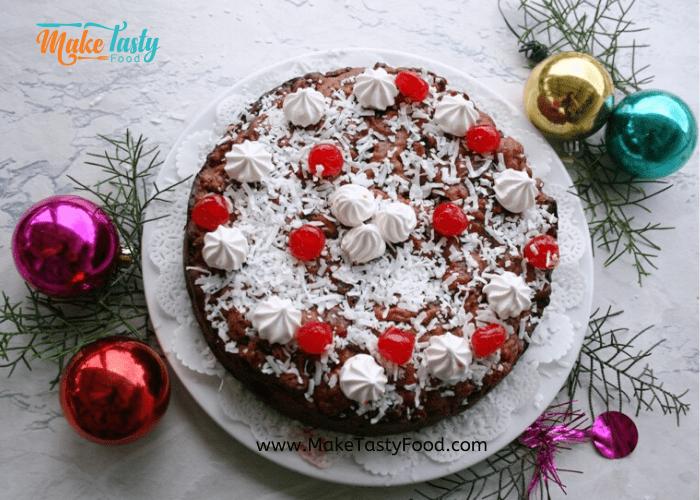 Amazing Alcohol free Christmas fruit cake