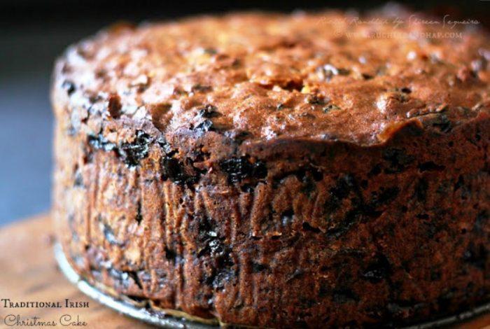 traditional irish christmas cake
