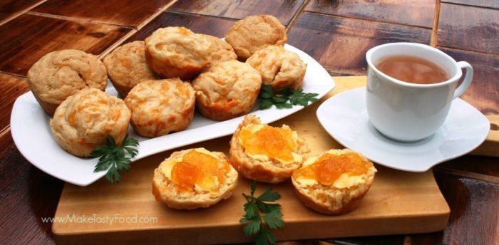 sugar free cheese scones