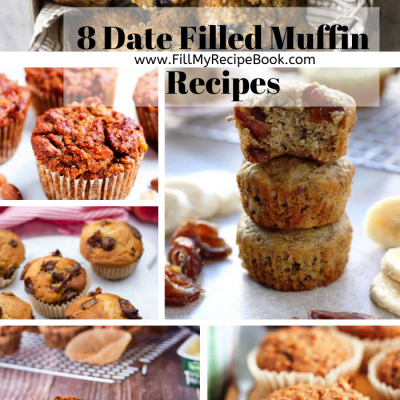 8 Date Filled Muffin Recipes