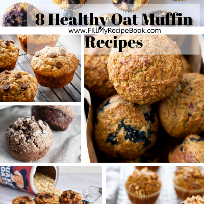 8 Healthy Oat Muffin Recipes