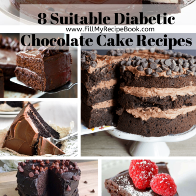 8 Suitable Diabetic Chocolate Cake Recipes
