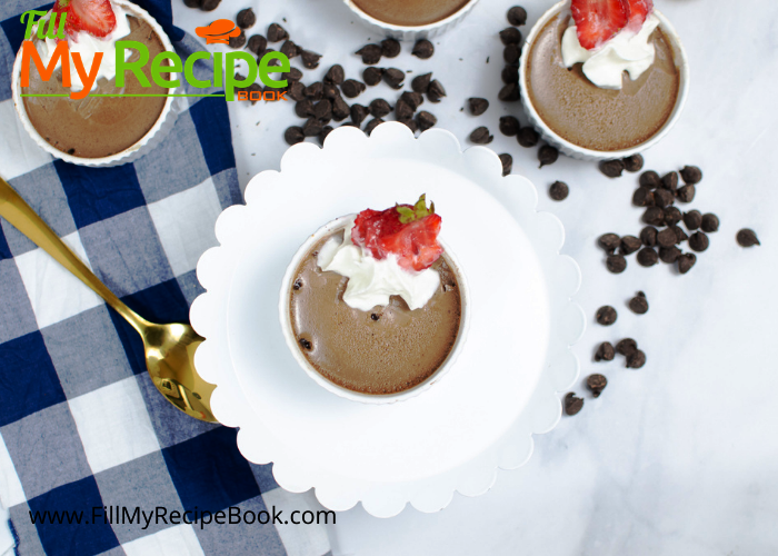 completed instant pot chocolate mousse recipe