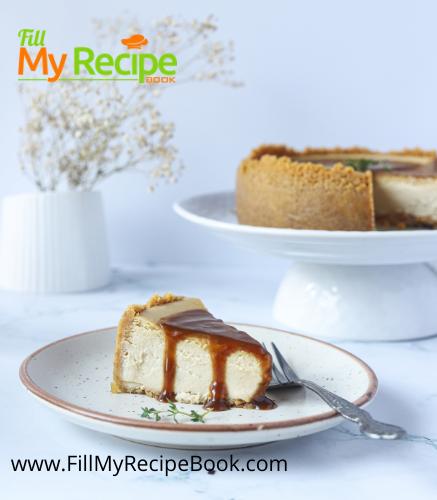 Amazing Earl Grey Baked Cheesecake