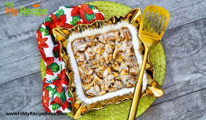 baked cinnamon breakfast casserole