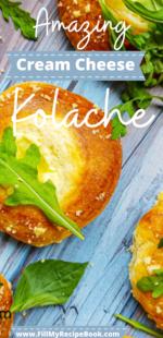 Amazing Cream Cheese Kolache