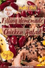 A Filling Homemade Chicken Salad