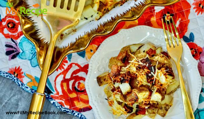 Baked Bacon and Parmesan Potato