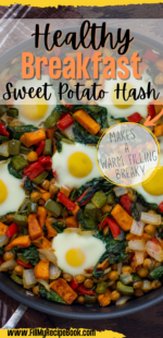 Healthy Breakfast Sweet Potato Hash