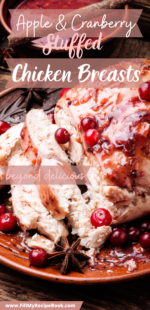 Apple & Cranberry Stuffed Chicken Breasts