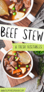 Beef Stew with Fresh Vegetables