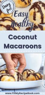 Easy Healthy Coconut Macaroons
